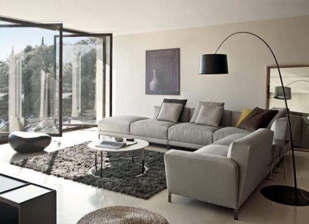 Đèn đứng tạo thêm nét nổi bật, sự tiện nghi cho phòng khách