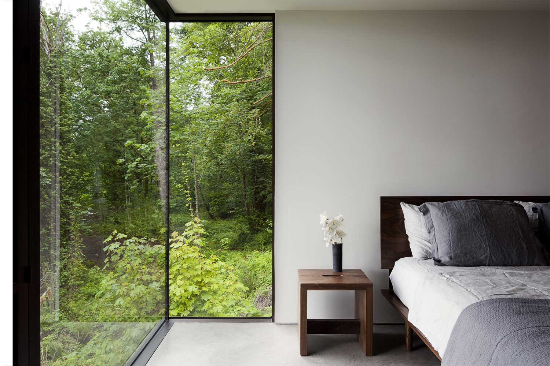 Thiết kế phòng ngủ gần gũi với thiên nhiên